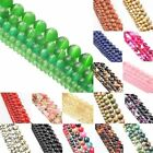 Hot Long Natural Stone Gemstone Round Loose Beads Jewelry 4mm 6mm 8mm 10mm 12mm