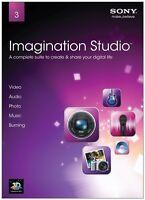 Sony Imagination Studio 3 Video Audio Photo Music Burning Software Full Version