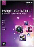 Sony Imagination Studio 3 Video Audio Photo Music Burning Software Full Version