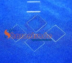 3x-New-JGS1-Double-Sided-Polishing-30-30-1mm-Fused-Silica-Quartz-Glass-Sheet