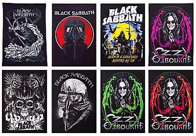 OZZY Osbourne iron on or sew on Patch music band hard heavy metal black sabbath