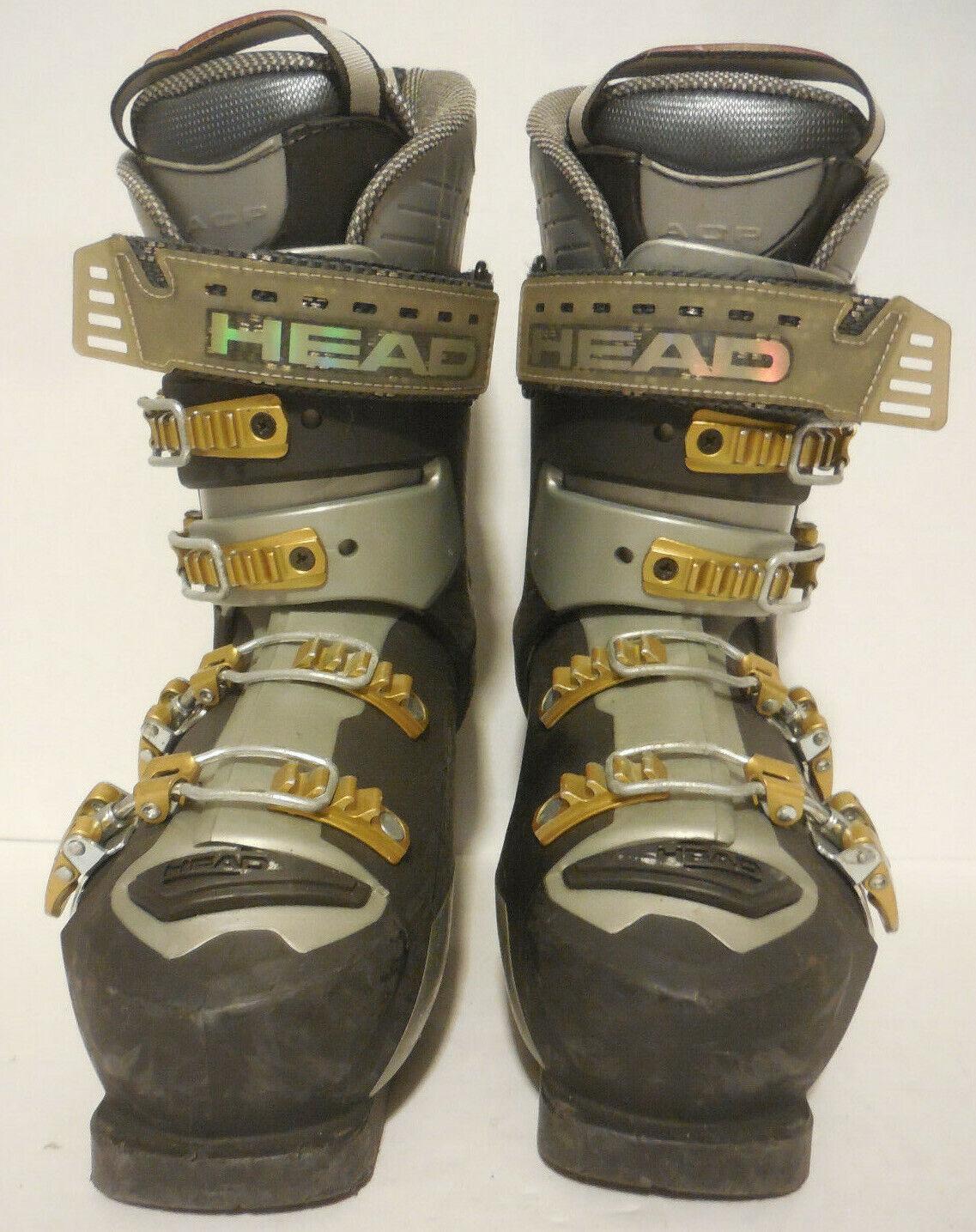 Ski Stiefel Head World Cup RS 100 Größe 25.0 damen US 8 Mens US 9