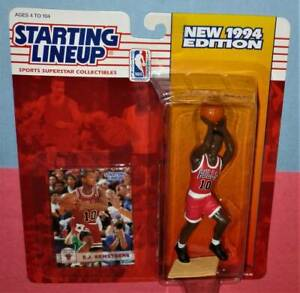1994 B.J. ARMSTRONG Chicago Bulls NM/MINT Rookie *FREE_s/h* sole Starting Lineup
