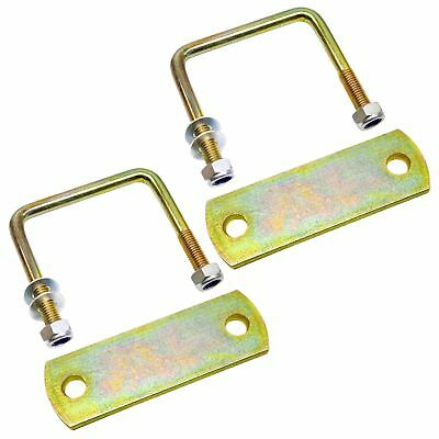M10 40mm x 70mm U-Bolt N-Bolt 1 PAIR with Plates and Nuts HIGH TENSILE UBR01//0
