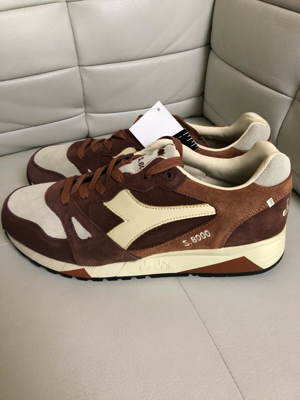 Diadora S9000 S Ita Brown Mushroom Made In Italy Size 11