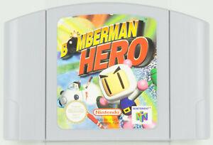 Nintendo 64 * Bomberman Hero * n64 módulo