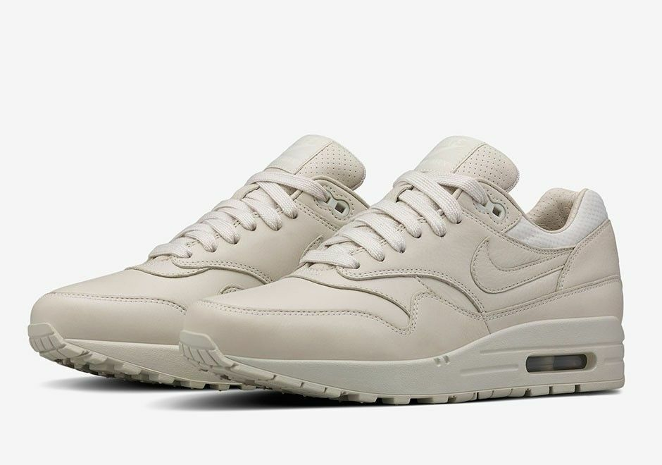 NEW Women's Nike Air Max 1 Pinnacle LIGHT BONE SAIL Comfortable