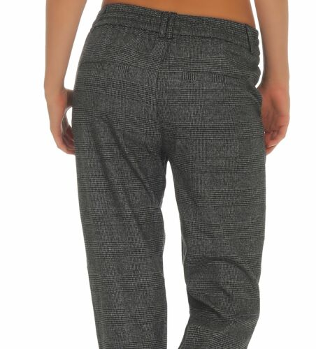 Only Damen Hose Stoffhose Poptrash Soft Check Kariert Damenhose Businesshose