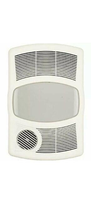Nutone 765hl Ventilation Exhaust, Bathroom Heater Fan Light Cover