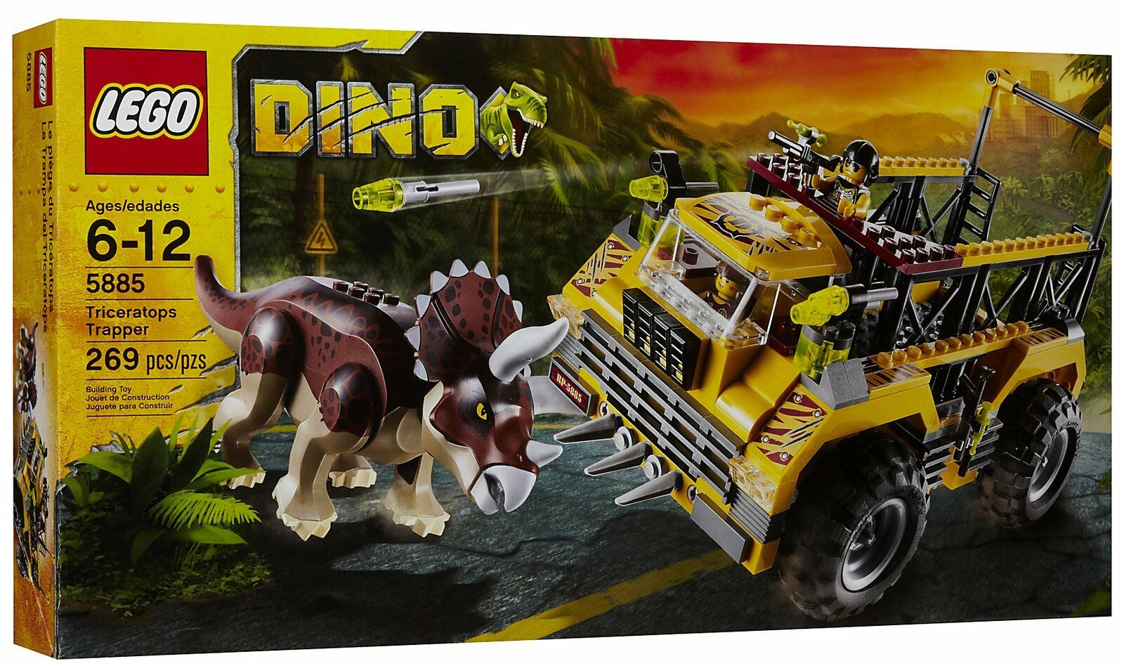 LEGO Dino Triceratops Trapper 5885 N.I.B. Sealed - Retired