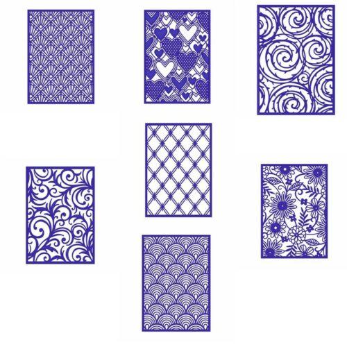 Rectangle Swirls Frame Cutting Dies Stencil Scrapbook Album Embossing Card Craft