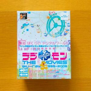 DIGIMON-THE-MOVIES-Blu-ray-1999-2006-First-Limited-Edition-Anime-Japan