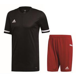 Adidas Sport Team 19 Mens Training Kit Set Short Sleeve SS Jersey ...