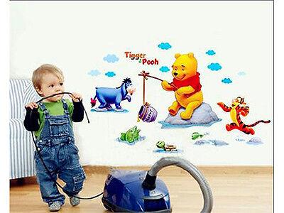 WINNIE THE POOH & FRIENDS Kids Wall Sticker for Kids room or Nursery