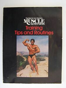 The Best of Joe Weider's Muscle and Fitness : Training