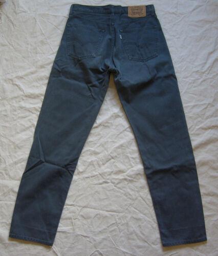 Herren 32w 500 Jeans W32 Graue Seltene Label Levis White 32 Serie L30 30l Hipster Sz UzpSMV