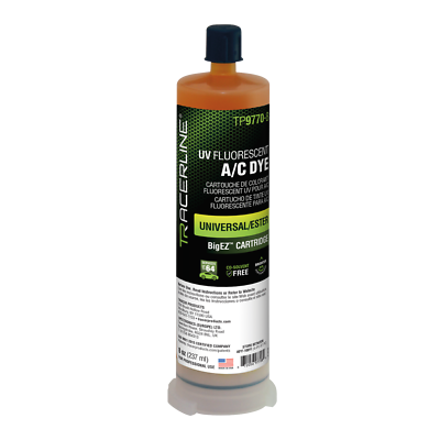 Tracerline TP9762-0108 BigEZ™ Refrigerant Oil Multi-Dose PAG Oil Cartridge