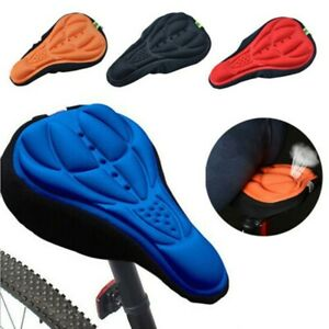 Bike bicycle saddle seat cover pad padded soft cushion comfort NEW seat cover 0