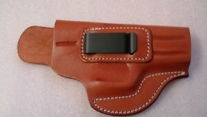 Details about Cebeci IWB Brown Leather Holster with Comfort Right Hand RH