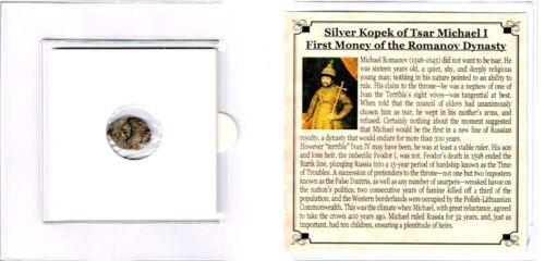 Tsar Michael I,Wire Money Of The Romanov Dynasty Mini Album,Story /& Certificate