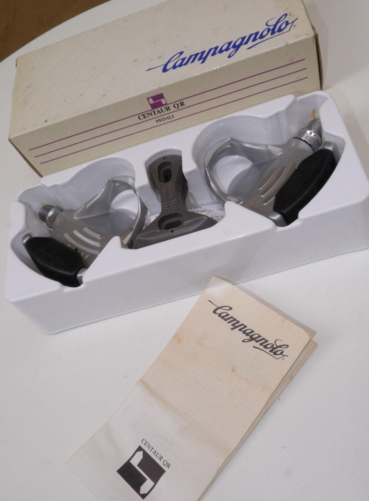 NOS Campagnolo Centaur QR pedals, retro mtb, mountain bike memorabilia