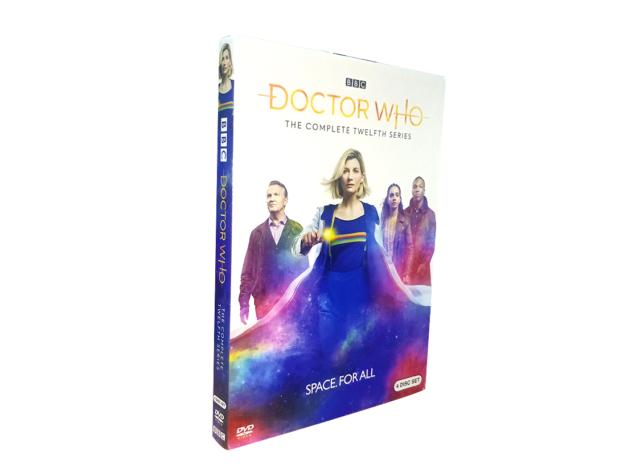 Doctor Who Season 12 (DVD, 2020, 4-Disc Set) Brand New #XZ