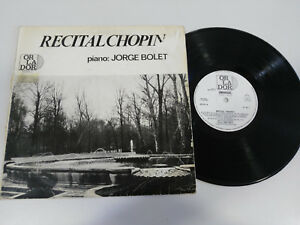 CHOPIN-RECITAL-JORGE-BOLET-PIANO-LP-VINILO-VINYL-10-034-ORLADOR-SPAIN-ED-1965-33RPM