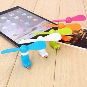 Haushaltsgeräte Haushaltsgeräte Mini Micro Usb Fan Tragbare Kühlung Reise Fan Für Android-handy