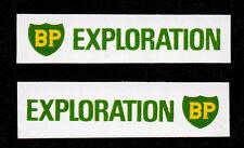 Matchbox Lesney Stickers 'BP EXPLORATION' for 61b Alvis Stalwart (2)