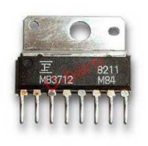 MB3712 ZIP-8 Integrated Circuit from Fujitsu