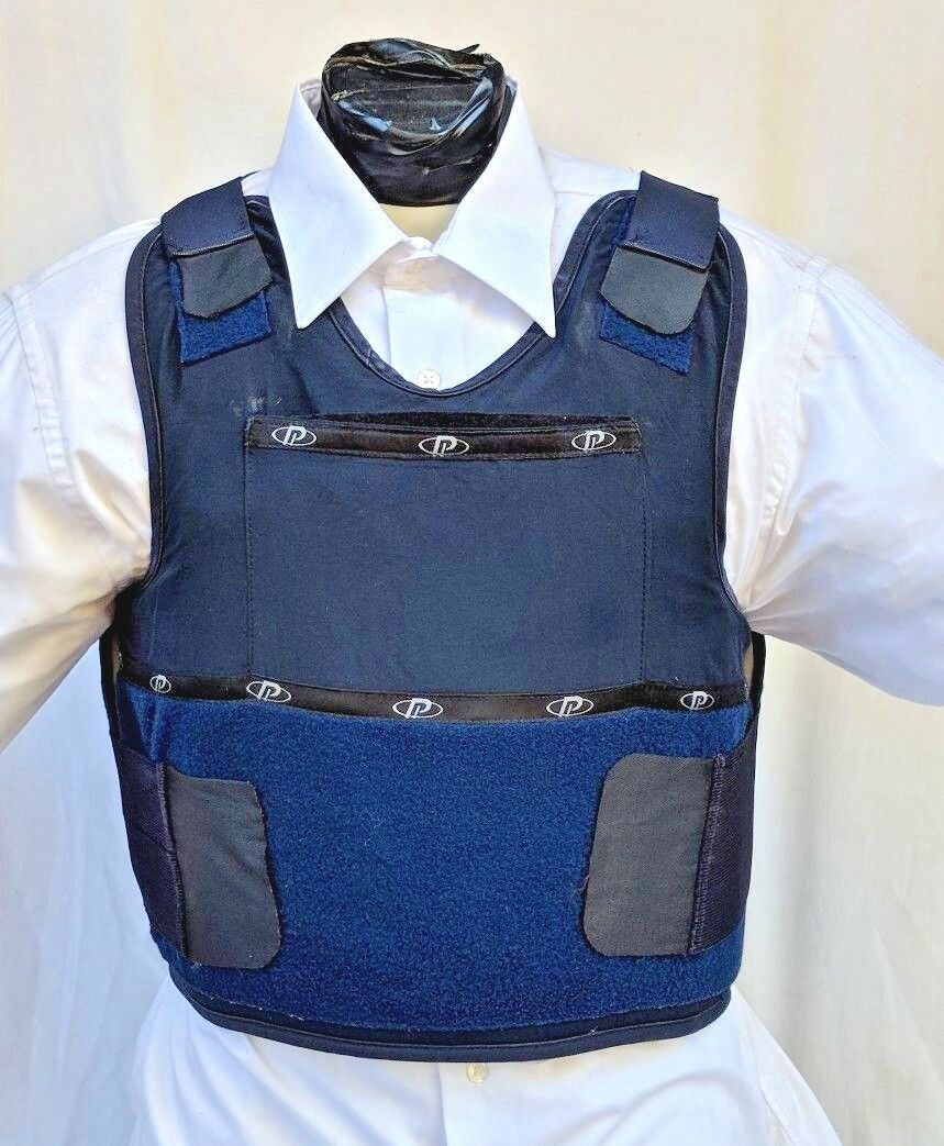 XL  IIIA Concealable Body Armor Carrier BulletProof Vest with  Inserts  100% fit guarantee