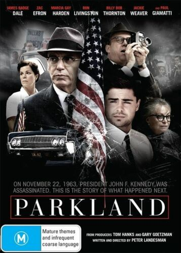 1 of 1 - NEW Parkland  - DVD Region 4