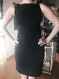 3d542e48279 JESSICA MCCLINTOCK for GUNNE SAX Women s Sheer Back Black Dress NEW ...