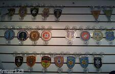 POLICE FAMILY MEMBER CAR SHIELD  PBA- FOP -MILITARY- FMBA -FIRE DEPT. SHIELDS