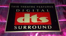 DTS Home Cinema Sign