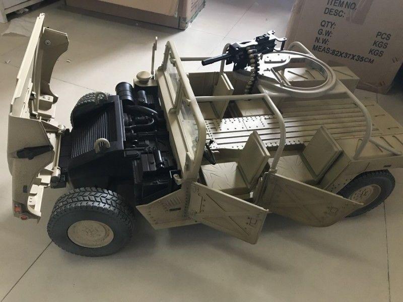 Vgijoe militaire 1 6 Alliage Camion Modèle Hummer Véhicule Modèle De Voiture Sable Couleur Jouet