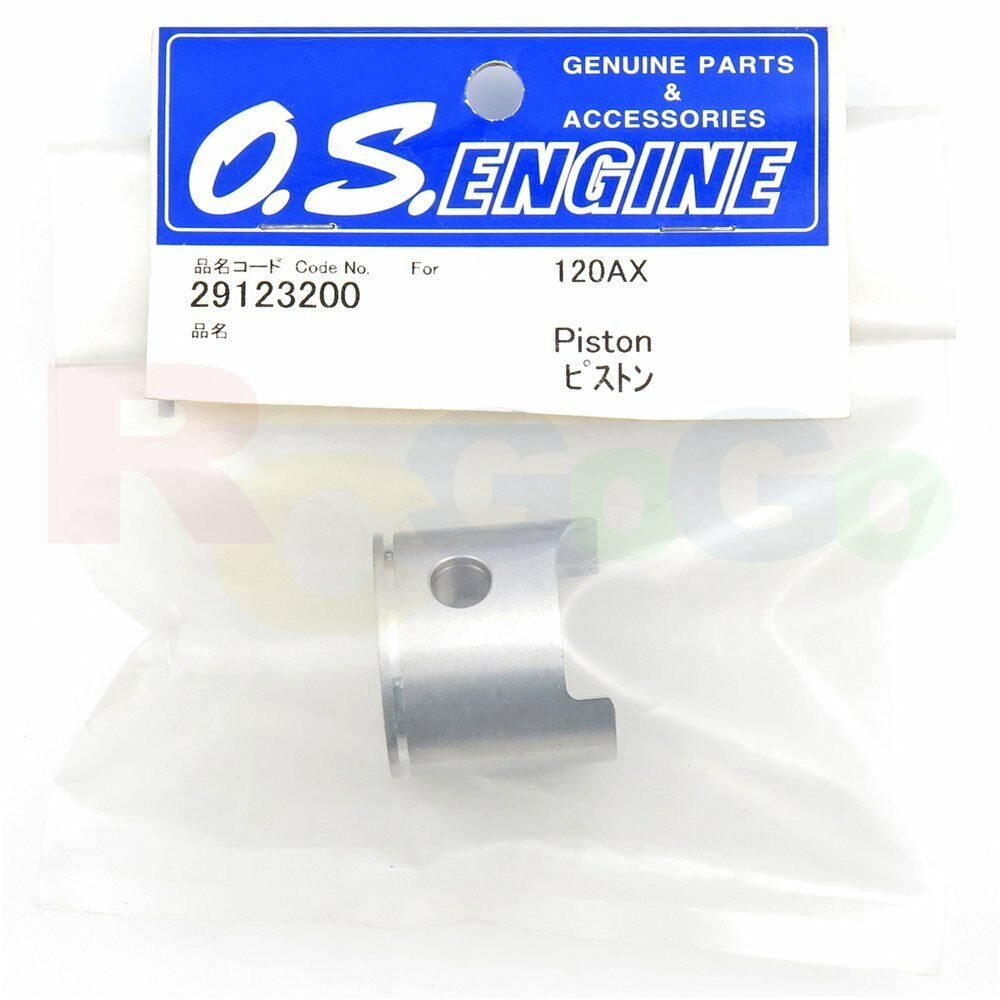 PISTON 120AX # OS29123200 **O.S. Engines Genuine Parts**