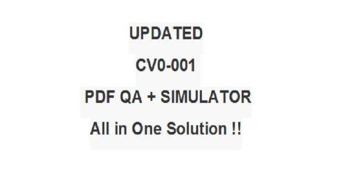 CompTIA Cloud Certification Test CV0-001 EXAM JK0-020 QA PDF/&Simulator