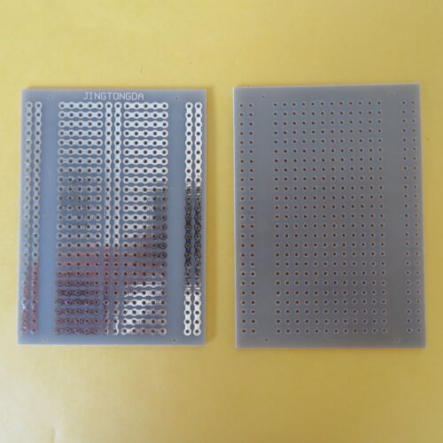 5pcs Stripboard Vero 5x7cm 5er joint hole Prototype Fiberglass circuit board pcb