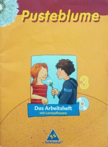 1 von 1 - Pusteblume Das Arbeitsheft Deutsch Kl. 3 Schroedel 9783507402744 Sprachbuch 2006
