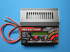 TURNIGY REAKTOR 30A 1000W BALANCE CHARGER DISCHARGER 1-10S LiPo LiFe Ni-- PC DC