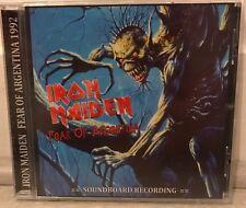 "IRON MAIDEN : ""Fear Of Argentina"" (SOUNDBOARD) (RARE CD)"