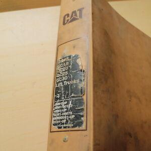 Mitsubishi caterpillar gc25 service manuals