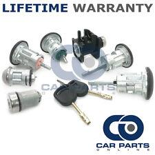 Para Ford Transit Mk6 2000-06 Completa 7 Conjunto De Cerradura Puerta Delantero Trasero De Encendido + 2 Llaves
