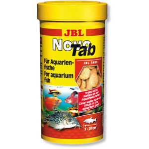 JBL-NovoTab-100ml-Original-Tub-Novo-Tabs-for-Aquarium-Fish-Food-Tablets