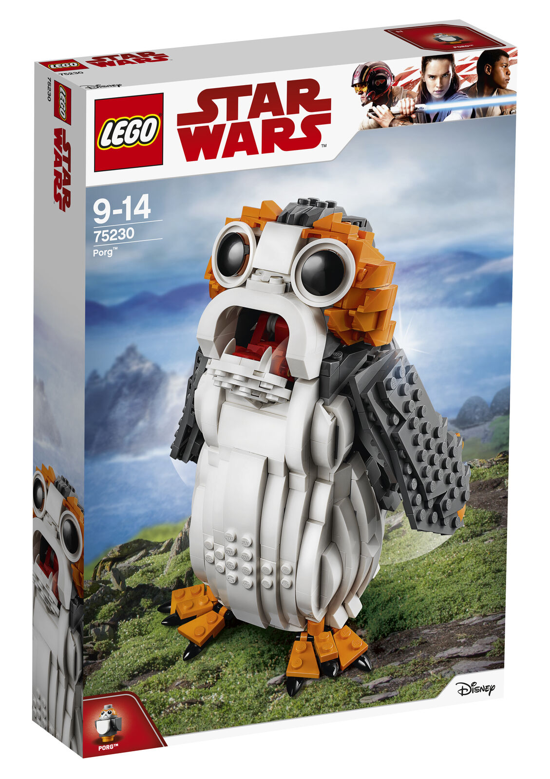 Lego Star Wars Porg (75230) Ucs Brand New Factory Sealed. Amazing Build Rrp