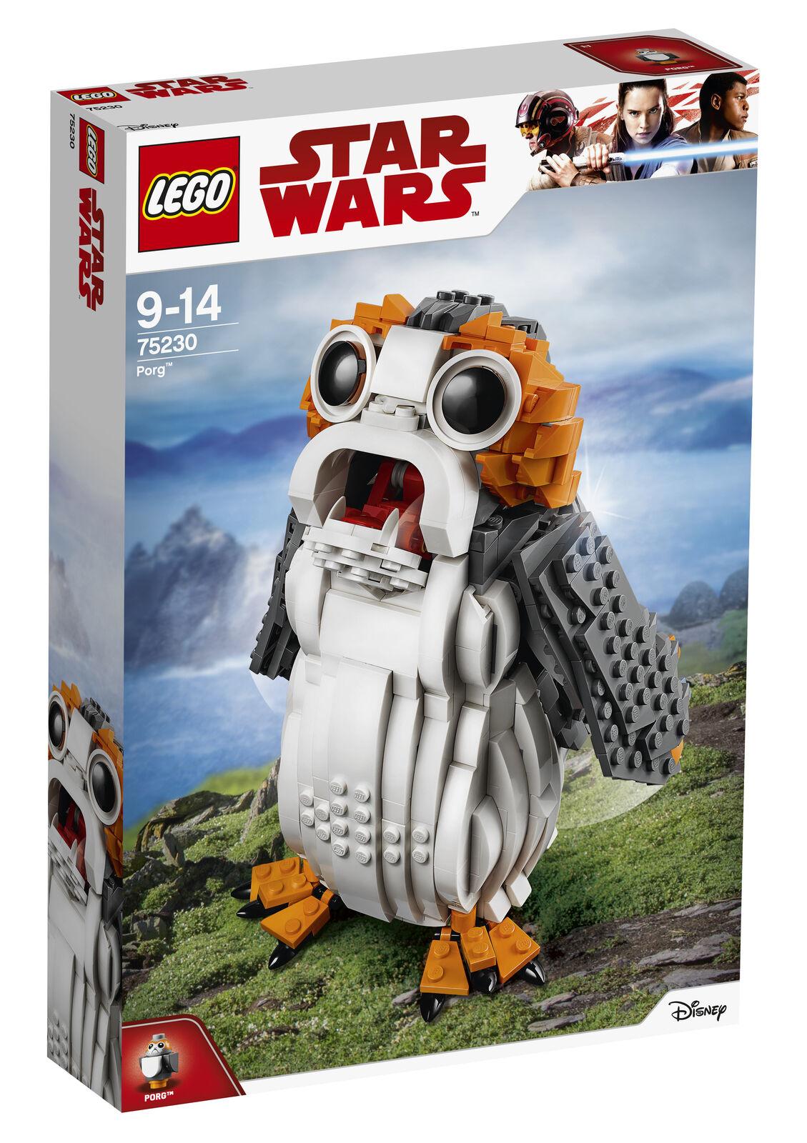 LEGO Star Wars porg  75230  Nuovo in Scatola Building Set Regalo