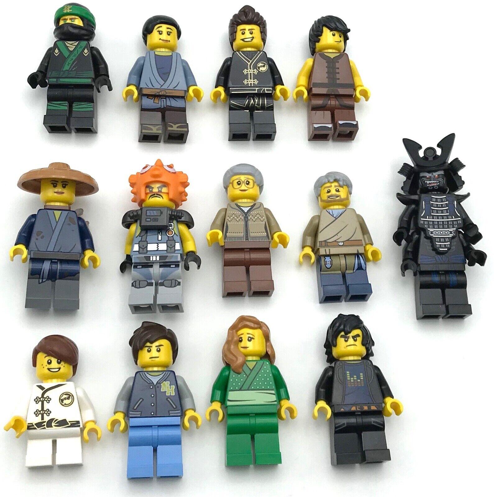 Lego Nouveau Ninja Mini Figurines de Film Set 70657 Ninjago City Quais You Pic
