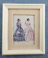 Accessoires Pour Maison De Poupées Miniature Mode Été Image Peinture