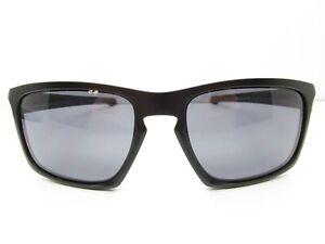2af216d6a90 Oakley Sliver OO9262-01 SUNGLASSES 57-18-140 Black Keyhole TV6 36871 ...
